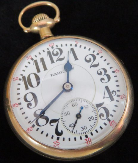 Hamilton Pocket Watch 992 - 21 Jewels movement # 2602747.