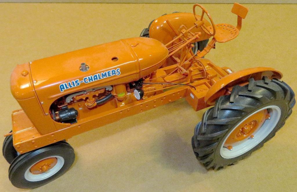 Franklin Mint Allis Chalmers WC Farm Tractor Die-Cast B11YE34 1:12 Scale.