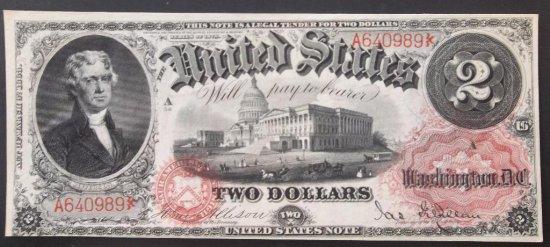 1878 $2 USN FR 48