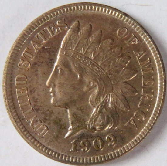 1909 S Indian Head Cent ? High Grade Key!