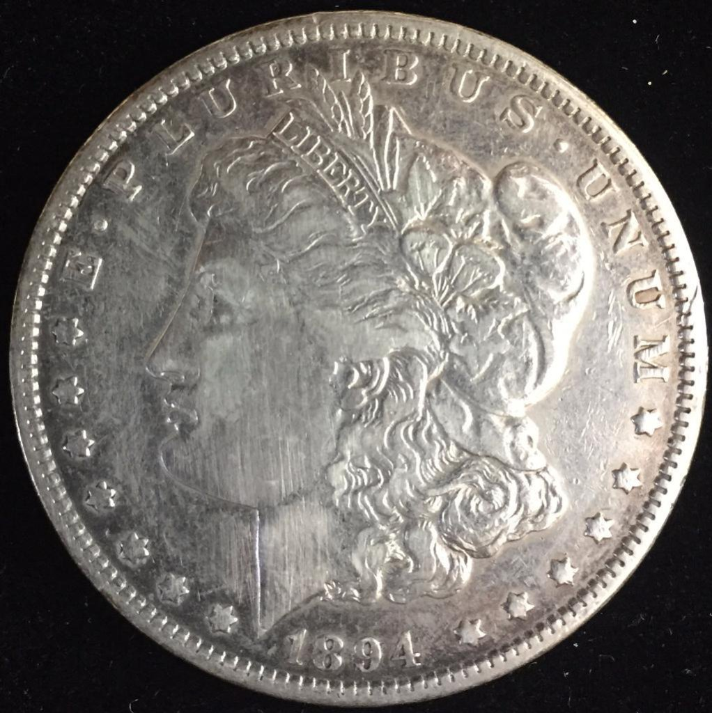 1894 Morgan Dollar.