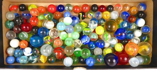 Lot of over (200)+ assorted Vintage Marbles.