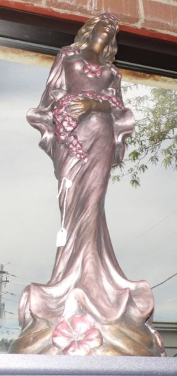 Decorative Austin Productions Inc. Alice Heath Sculpture 1989.