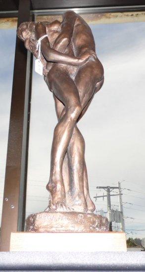 "Austin Productions - Kathy Klein Sculpture ""First Love""."
