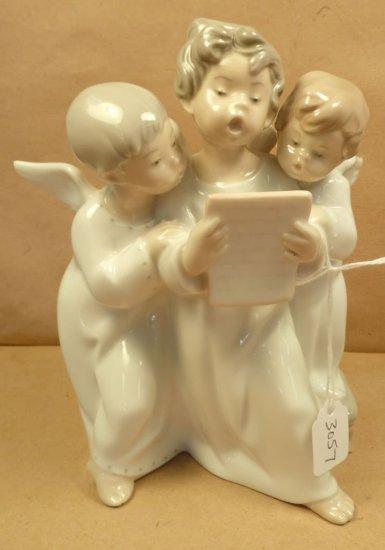 """Lladro """"Angel Choir"""" #4542."""