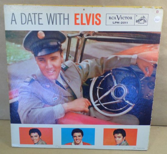 RCA Victor Album LPM-2011 - A Date With Elvis.