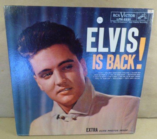 RCA Victor Album LPM-2231 - Elvis Is Back!
