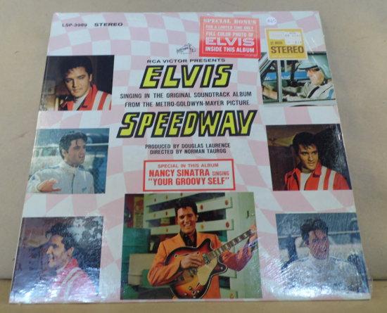 RCA Victor Stereo Album LSP-3989 - Elvis Speedway.