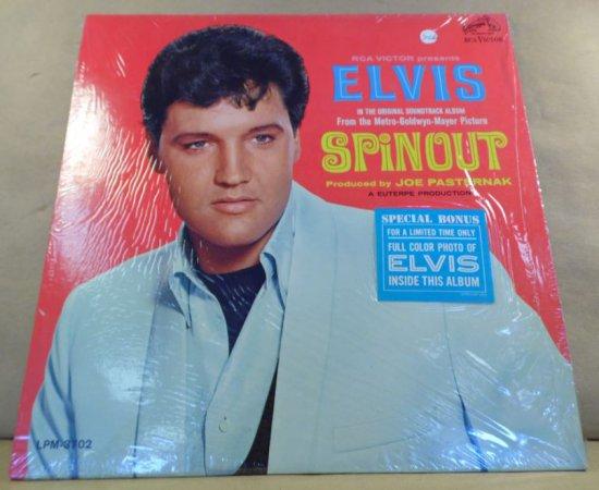 RCA Victor Album LPM-3702 - Elvis Spinout.