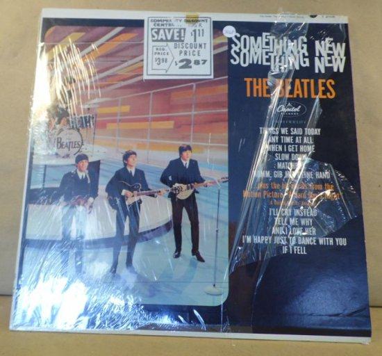 Capitol Records Album T-2108 - The Beatles Something New.