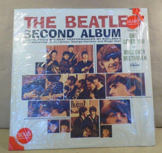 Capitol Records Album T-2080 - The Beatles Second Album.