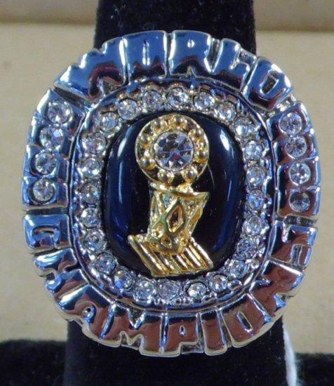 "Dwayne Wade 2006 Miami Heat World Champions ""Replica"" Ring."