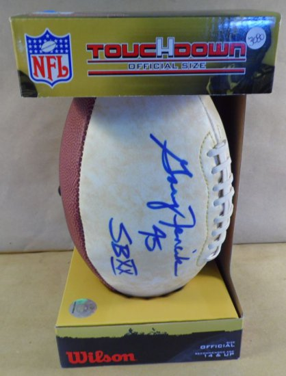 Gary Fencik #43 Super Bowl XX autographed limited edition Bears football.  With authenticity.