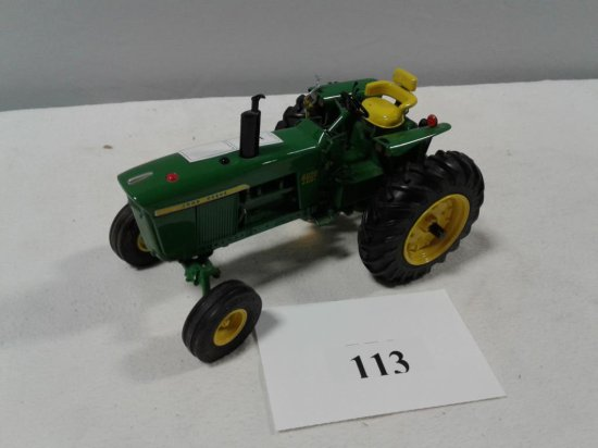 TOY TRACTOR JD 4020 WIDE FRONT DIESEL PRECISION SERIES