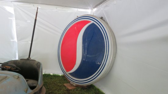 72 INCH PLASTIC DOUBLE SIDED PLASTIC STUDEBAKER SIGN