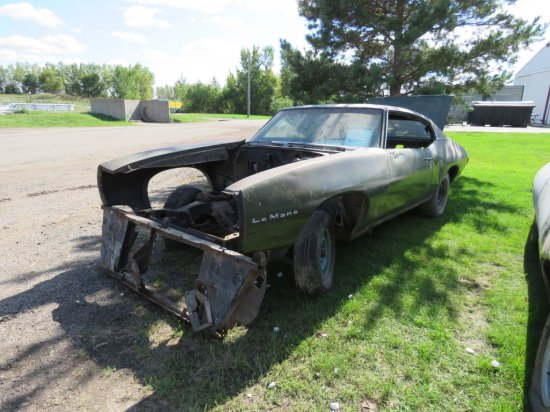 1969 Pontiac LeMans Coupe Project  23739R154354
