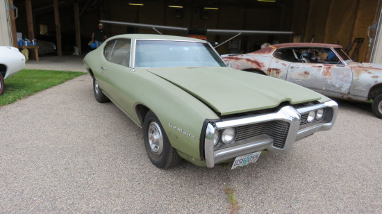 1969 Pontiac LeMans Coupe 23739R172516