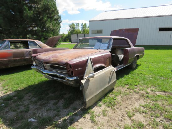 1965 Pontiac Lemans Coupe Project 237375P203956