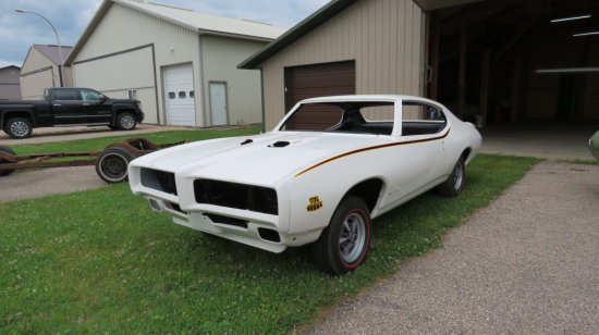 1969 Pontiac GTO Judge Project  242379A132174