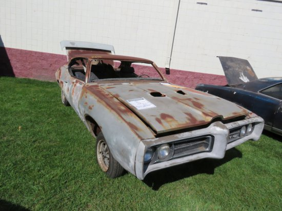 1969 POntiac GTO Judge Project  242379R187628