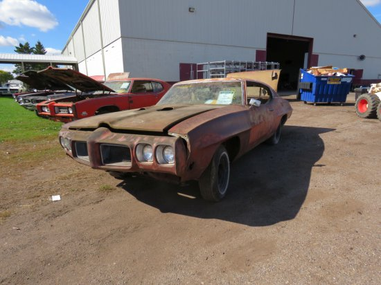 1970 Pontiac GTO Judge Project 242370R125585