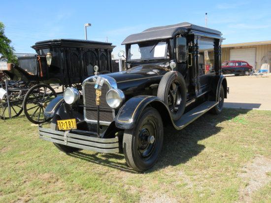 Rare 1928 Henney Hearse