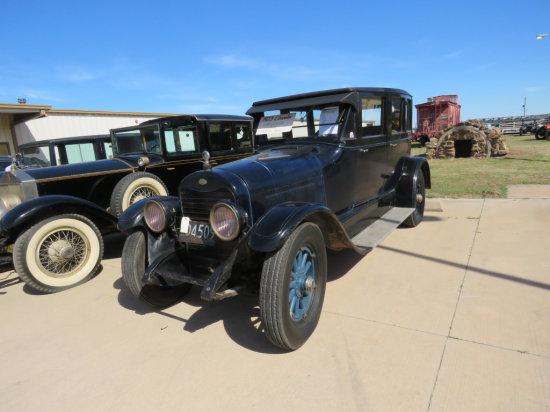 1923 Lincoln Model L 4dr Sedan