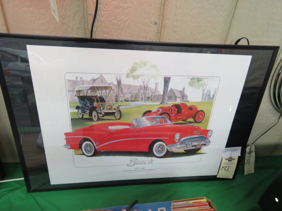 Buick Limited Edition Framed Print