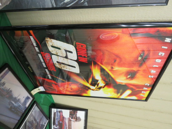 Gone in 60 Seconds Movie Poster-Framed