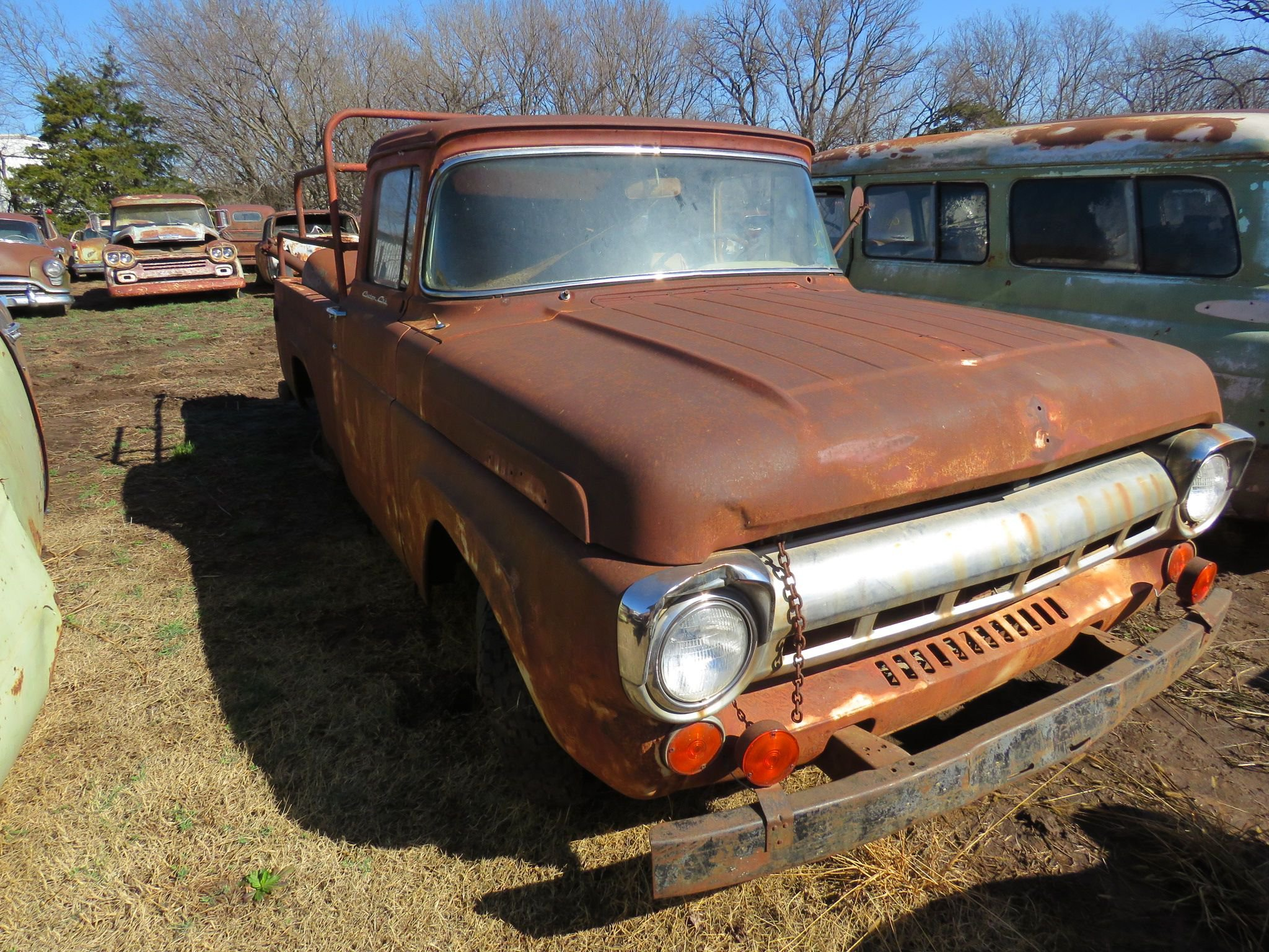 1957 Ford F100 Pickup Collector Cars Collector Trucks Vans