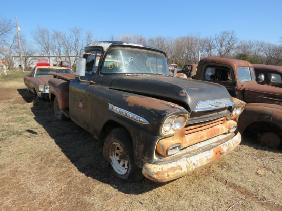 1959 Chevrolet 3100 Series Stepside Pickup