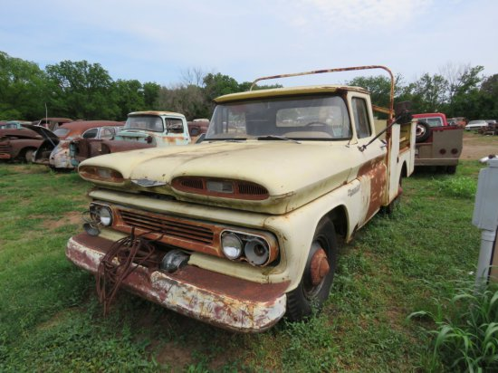 1960 Chevrolet Pickup with Utility Box