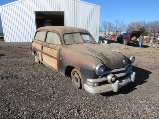 1950 Ford 2dr Woody Wagon