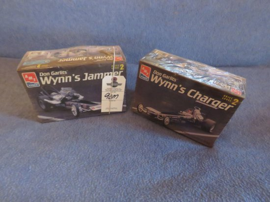 2 Don Garlits Dragster Models NIB