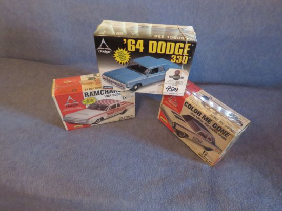 3 NIB Dodge Models