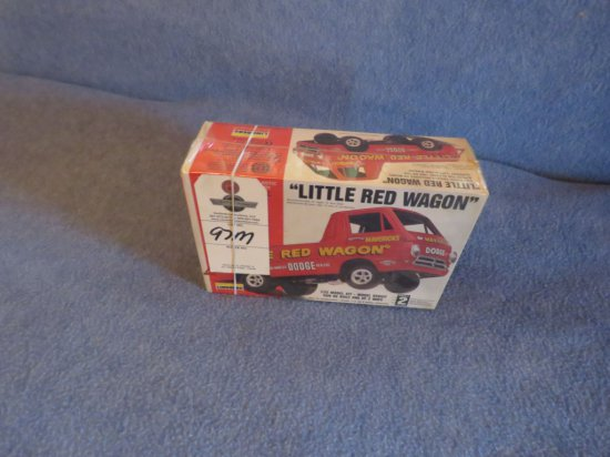 Lindberg Little Red Wagon 1/25th Scale Model NIB