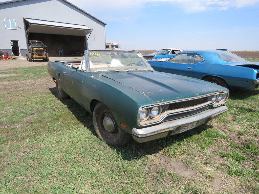RARE 1970 Plymouth Road Runner Convertible