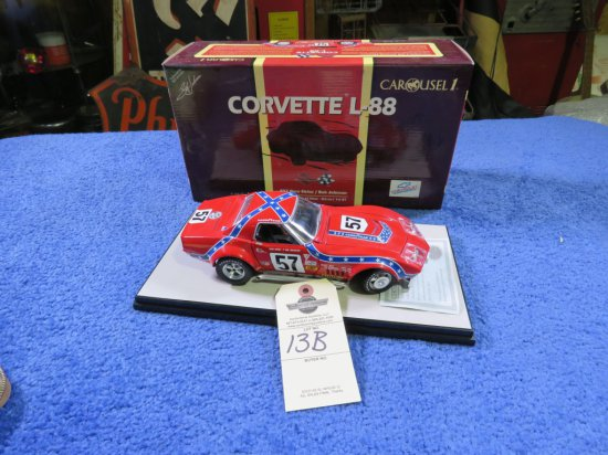 Chevrolet L88 Corvette #57 Dave Heinz 1/18th Scale Model