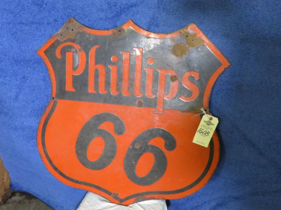 Phillips 66 DS Porcelain Sign
