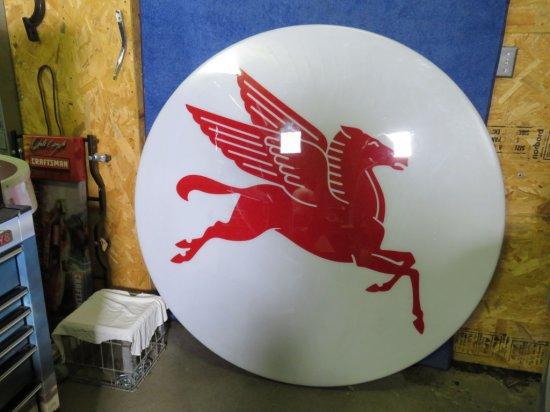 Mobil Pegasus SS Plastic Sign