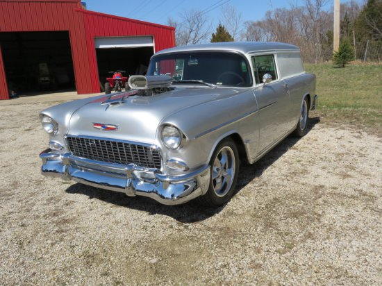 1955 Chevrolet Sedan Delivery Custom