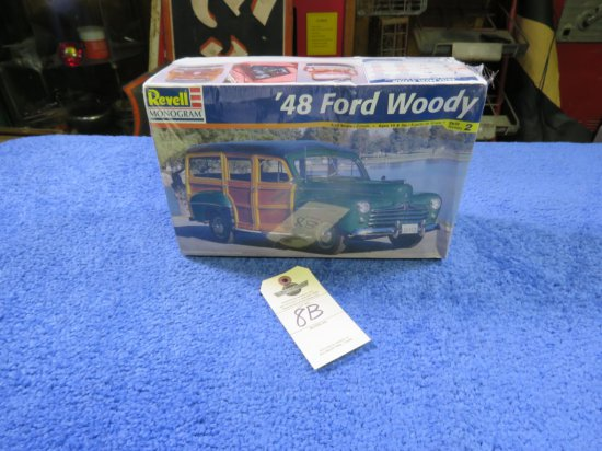 Revell 1948  Woody Wagon Model