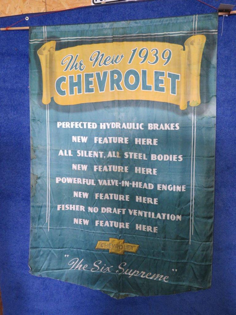 1939 Chevrolet SS Satin Wall Model Banner