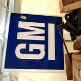 GM SS Plastic Sign