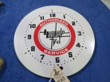Lincoln Zephyer Clock with no Hands or working