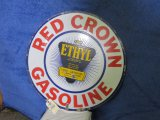 Red Crown DS Porcelain Sign