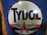 Tydol Flying A DS Porcelain Sign