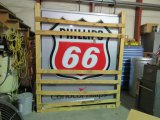 Phillips 66 DS Plastic Lighted Sign