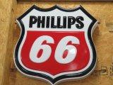 Phillips 66 SS Plastic Sign