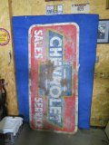 Chevrolet SS painted Tin Sign